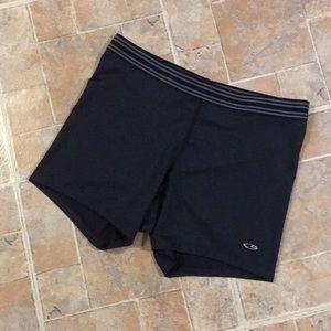 Champion compression shorts size women's large